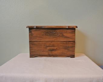 Faux Wood Lerner Desk Organizer