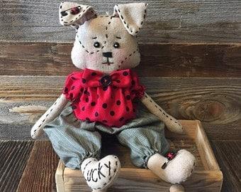 Little Lucky Dog  Rag Doll