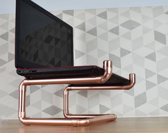Copper Laptop Stand
