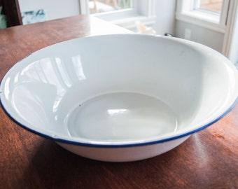 Enamelware bowl Bumper Harvest Brand