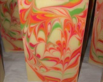 Island Nectar- Handmade, Cold process soap.