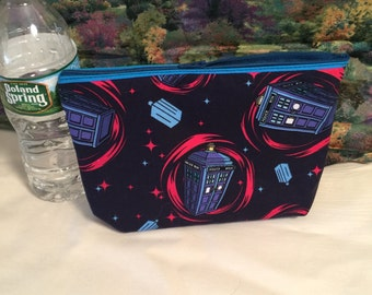 Dr. Who Make Up Case. Dr. Who Pencil Case.