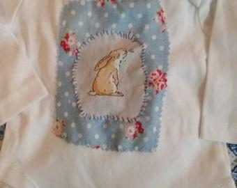 Nutbrown hare longsleeved onesie