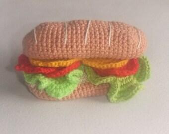 Self-crochet sandwich