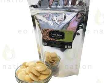 Pure Organic Cocoa Butter - 200g
