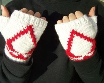 Assassin's Creed Hand Knit Fingerless Gloves