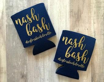Nash Bash Can Cooler, Nashville Bachelorette, Nashville Bachelorette Party, Bridal Party Favors, Bachelorette, Nash Bash, Nashville Party