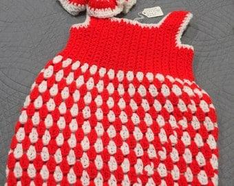 Sweater Dress/Matching Hat Little girls size 2