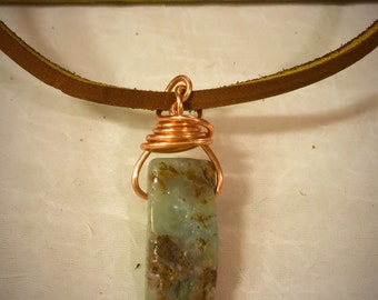 Australian Jade Copper Necklace