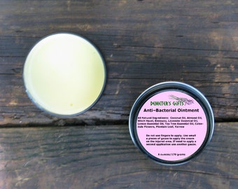 Anti-Bacterial Ointment - Homemade - All Natural - Herbal Neosporin