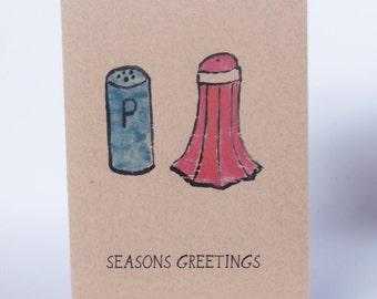 Christmas Card - seasons greetings