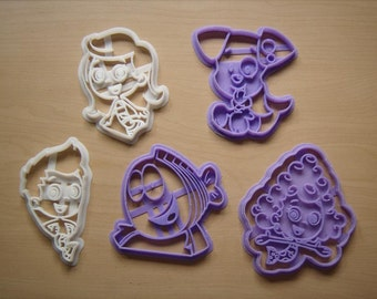 Bubble Guppies Cookie Cutter Set of 5 Guppy Dogfish
