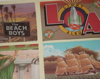 Beach Boys vinyl record, L. A. Light Album vintage vinyl record
