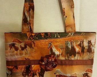 Wild Horses Little Bling Bag