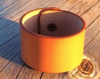 Natural leather bracelet cuoio bracciale pelle man woman