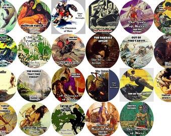 Lot of 23 Edgar Rice Burroughs (Color Fronts) Mp3 CD Audiobooks Tarzan John Carter