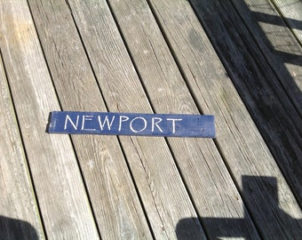 Newport Sign, Rhode Island