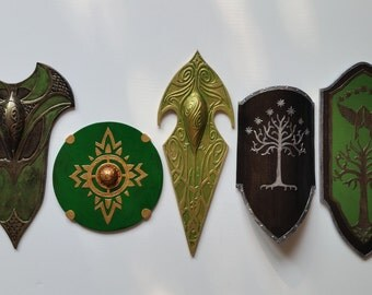 Lord of the rings - mini shield collection