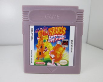 Spud's Adventure fan made reproduction Gameboy Game Boy