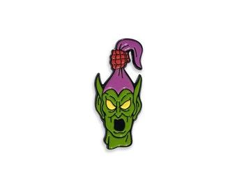 Green Goblin Enamel Pin