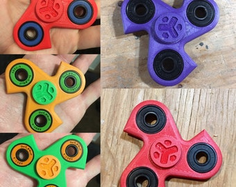 how to make ninja star fidget spinner