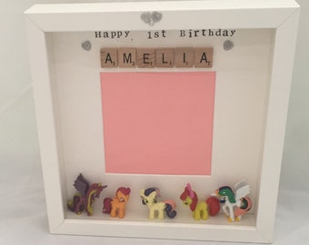 Personalised My Little Pony photo frame - perfect gift- mum- friend- daughter- sister - niece- My Little Pony Fan