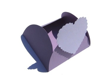 Table cards gift box nametag table decorations place cards wedding deco table decoration lilac