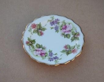 Royal Stafford Elegance Bone China Dish - Floral Design - Vintage Bone China