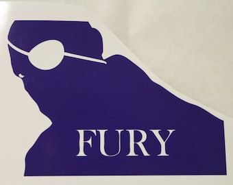 Nick Fury The Avengers Marvel Decal Any Size Any Colors