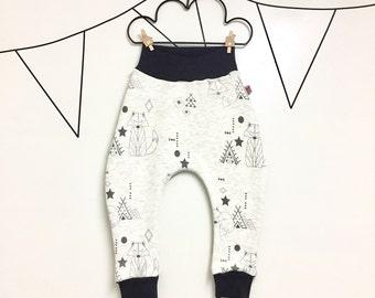 Baby harem pants little Vixen