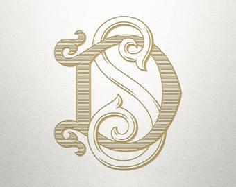 Wedding Logo Design - DS SD - Wedding Logo - Digital