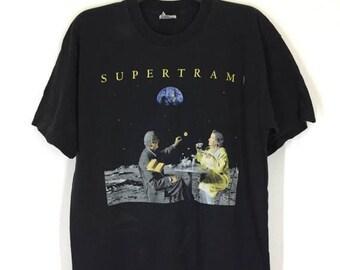 MEGA SALE 20% Rare! Vintage 70s 80s Supertramp T Shirt Size Xl