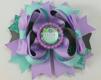 Little girl hair bow, boutique hair bow, country cutie, hair bows