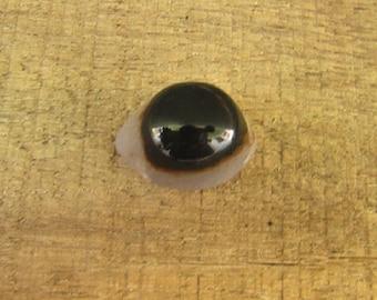 Beautiful eye agate cabochon stone