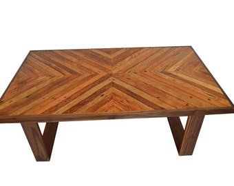 Reclaimed Doug Fir Lath Coffee Table