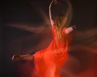 Fine art Contemporary dance photography print - Fine Art Colour photo print