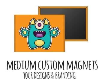 """Custom Fridge Magnets - Rectangle Fridge Magnets, Medium 2"""" x 3"""", save the date, favor magnet, shower favor, photo magnet, custom magnet,"""