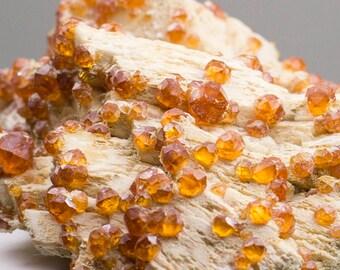 Garnet Spessartite from China 65*67*25mm, 64grams