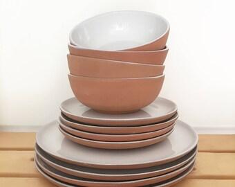 Clay Table Setting, 6 Pcs