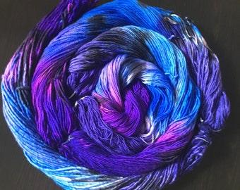 PREORDER: Kamikaze Butterfly -- handdyed superwash worsted weight yarn -- Modern Merino