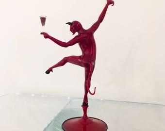 Diavolo Rosso murano glass