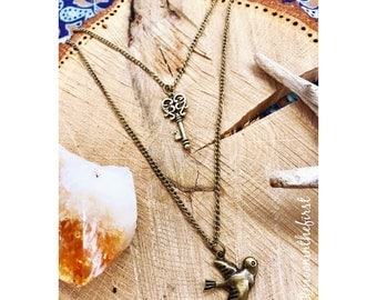 Spirit & Freedom of the Sparrow Necklace