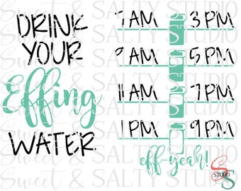 drink your effing water digital file