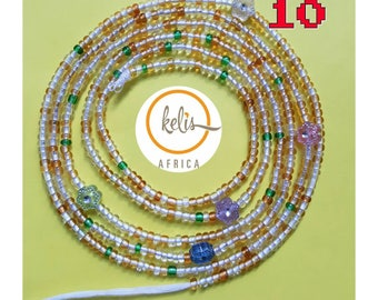 NEW SALE !!/Waist Beads / String of west african beads/ Waistbeads