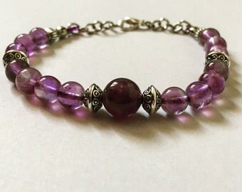 Beads Amethyst bracelet