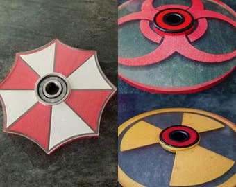 Painted Inner Core Hand Spinners - Fidget Spinners With Bearing
