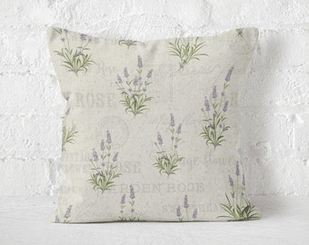 Pillow case LAVENDER GARDEN