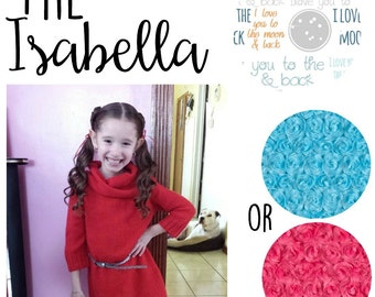 The Isabella, Minky Blanket
