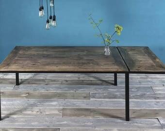 Timber & iron Maaike dining table leaf