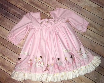 Girls Ballerina Dress (Unicorn Parade)